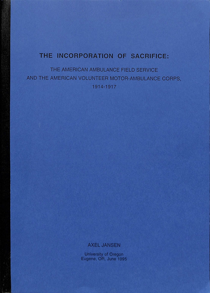 The Incorporation of Sacrifice