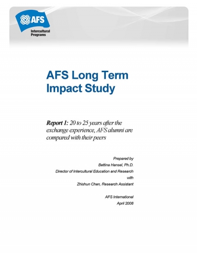 AFS Long Term Impact Study