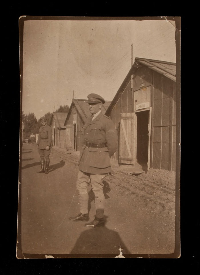 A. Piatt Andrew at the Officers' Training School at Meaux