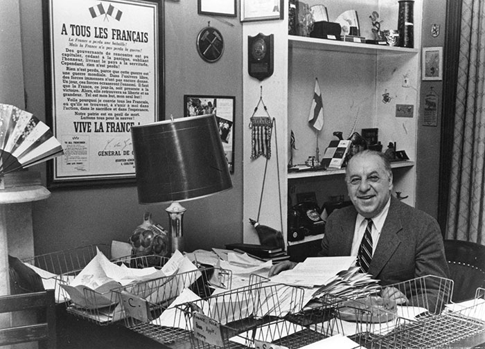 Stephen Galatti at his desk