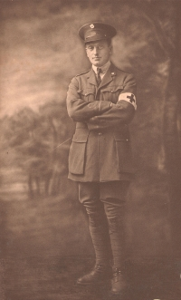 A. Piatt Andrew in AFS uniform