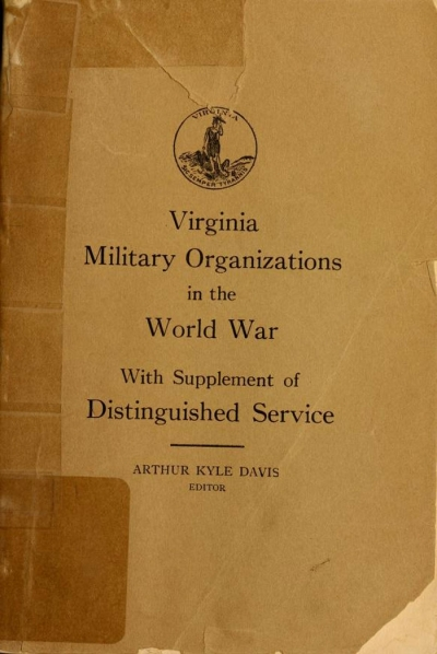 Virginia military organizations in the World War