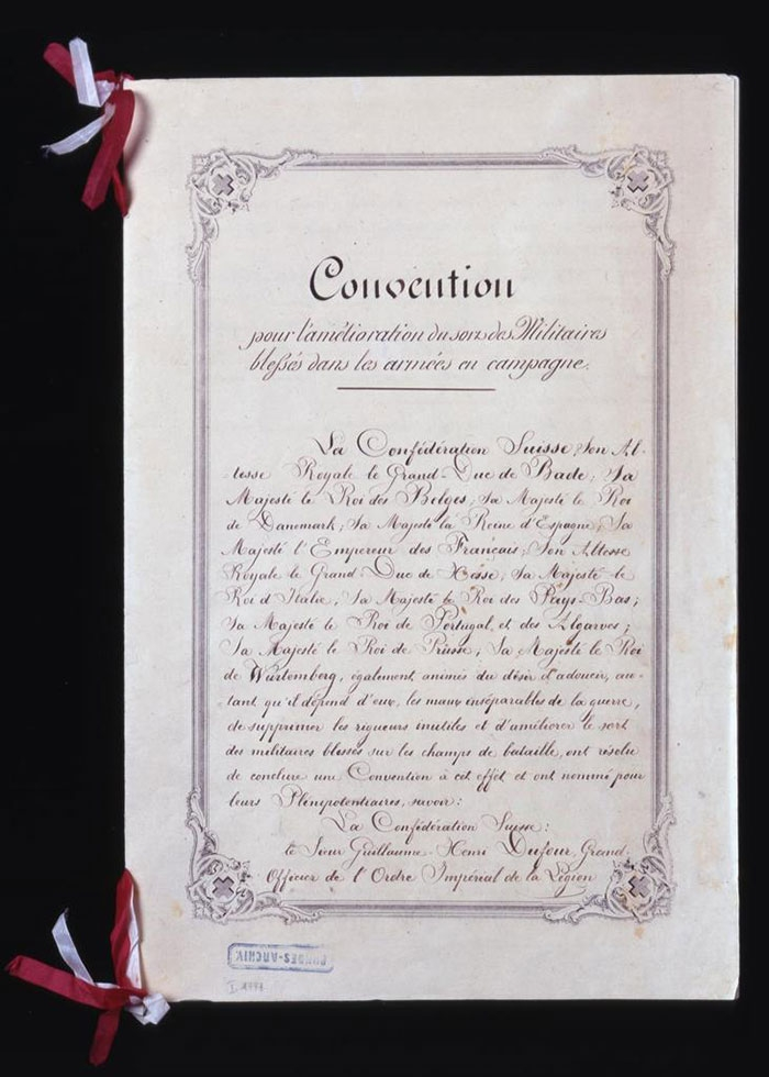 The Geneva Convention, 1864